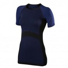 Falke Short Sleeved Shirt, dame, mørkeblå