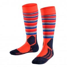 Falke SK2 Stripe skistrømper, børn, orange