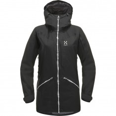 Haglöfs Niva Insulated Parka, dame, sort