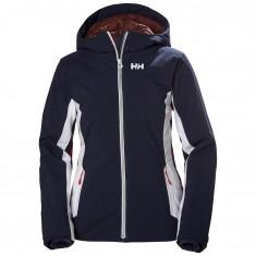 Helly Hansen Majestic Warm skijakke, dame, mørkeblå