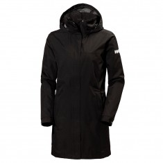 Helly Hansen W Aden Long, regnjakke, dame, sort
