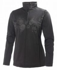 Helly Hansen W Grapich fleece jacket, skipulli, dame, Sort