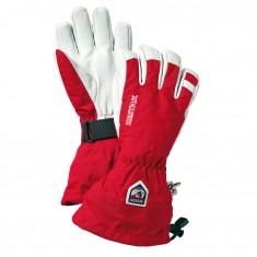 Hestra Army Leather Heli skihandske, rød
