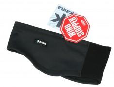 Kama softshell pannband, brett, svart