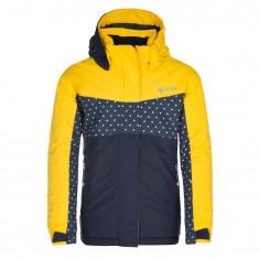 Kilpi Mils-JG, skijakke, børn, gul