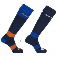 Salomon All Round ski sock, 2 pack
