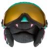 Uvex junior pro, skihjelm med visir, mint