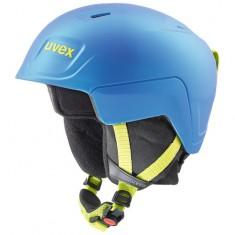 Uvex Manic Pro skihjelm, blå